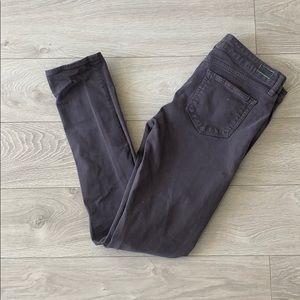 Paige skyline skinny gray jeans